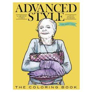 Advanced Style Adult Colouring Book